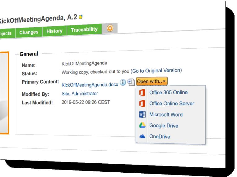 Windchill Office Online Integration - Prambanan IT Services